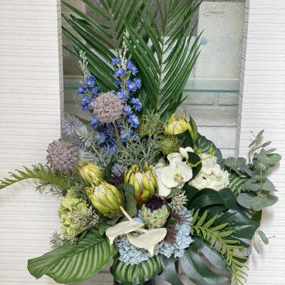 オフィスロビーの装花