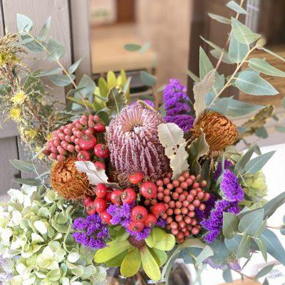 美容室の定期装花