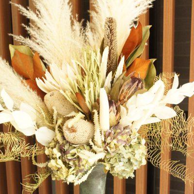 マンションロビーの装花